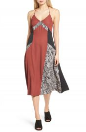 Trouv   Colorblock Slipdress at Nordstrom