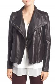 Trouv   Leather Moto Jacket at Nordstrom