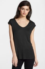 Trouvand233 and39Luxeand39 Tee in black at Nordstrom