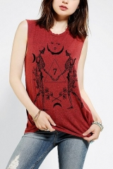 Truly Madly Deeply Cosmo Skeleton Muscle Tee at Urban Outfitters