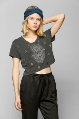 Truly Madly Deeply Embellished Hamsa Tee at Urban Outfitters