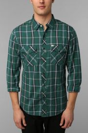Tufts plaid western shirt by Salt Valley at Urban Outfitters