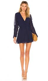 Tularosa Tawney Dress in Navy from Revolve com at Revolve