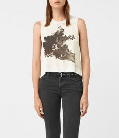 Tulipa Cropped Tee at All Saints