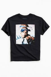 Tupac Blues Tee by Urban Outfitters at Urban Outfitters