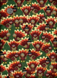 Turkey fabric at Artfire