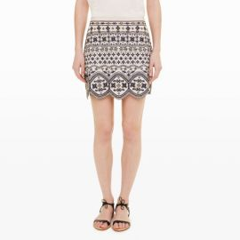 Turlough Embellished Skirt at Club Monaco