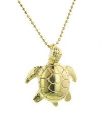 Turtle Pendant Necklace at Ylang 23