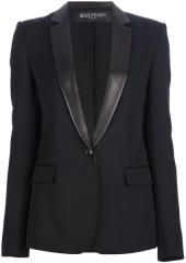 Tuxedo blazer by Balmain at Farfetch