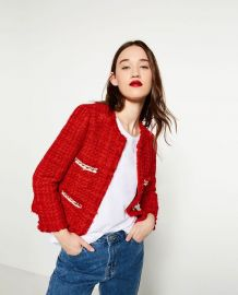 Tweed Jacket at Zara