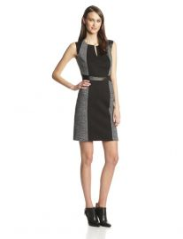 Tweed Twill Dress at Amazon