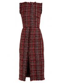 Tweed pencil dress at Matches