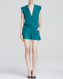 Twelfth Street by Cynthia Vincent Romper - Ruffle Flutter at Bloomingdales