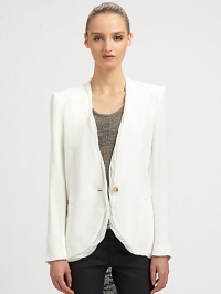 Twisted blazer by Helmut Lang at Saks Fifth Avenue