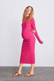 Two Tone Knit Dress by Zara at Zara