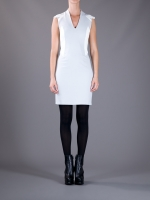 Two tone dress by Helmut Lang at Farfetch