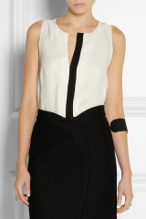Two tone top by Proenza Schouler at Net A Porter