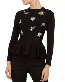 Tynna Embellished Sweater by Ted Baker at Bloomingdales
