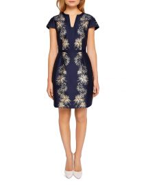 Tzalla Sculpted Stardust Jacquard Dress by Ted Baker  at Bloomingdales