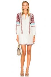 ULLA JOHNSON YELENA DRESS IN NATURAL at Forward
