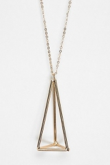 UO Geometric Pendant Necklace at Urban Outfitters