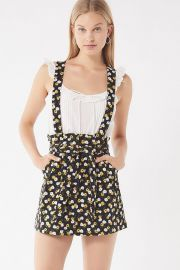 UO Ireley Corduroy Skirtall Overall at Urban Outfitters