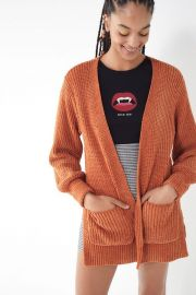 UO York Split Cardigan at Urban Outfitters
