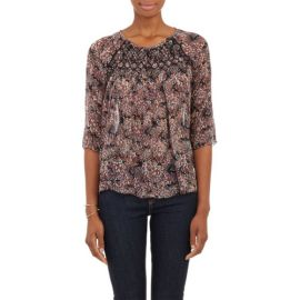 Ulla Johnson Mini-Floral Hazel Blouse at Barneys