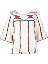 Ulla Johnson Patterned Knitted   39 Inez  39  Top at Farfetch