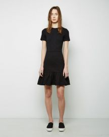 Umbrella Drop Ruffle Dress by Opening Ceremony at La Garconne