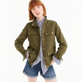 Uncoated downtown field jacket at J. Crew