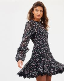 Unwavering Glamour LS Mini Dress by Talulah at The Iconic