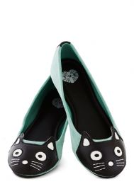 Up Your Alley Cat Flat at ModCloth