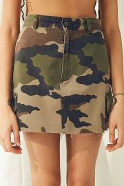 Urban Renewal Recycled Vintage Camo Mini Skirt at Urban Outfitters