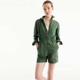 Utility Romper by J. Crew at J. Crew