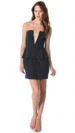 V Peplum dress by Zimmerman at Shopbop
