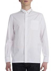 VALENTINO - Rockstud Cotton Shirt at Saks Fifth Avenue