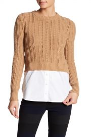 VERONICA BEARD   Carli Combo Sweater   Nordstrom Rack at Nordstrom Rack