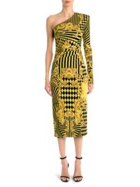 VERSACE - ONE-SLEEVE JERSEY DRESS at Saks Fifth Avenue