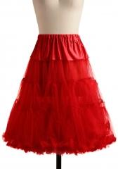 Va Va Voluminous Petticoat in Red at ModCloth