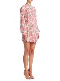 Valentino - Floral Pleated Dress at Saks Fifth Avenue