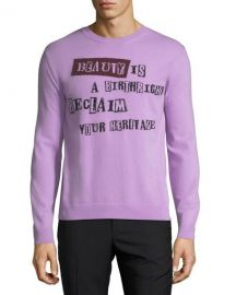 Valentino Beauty is a Birthright Intarsia Sweater   Neiman Marcus at Neiman Marcus