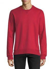 Valentino Studded-Trim Jersey Sweatshirt   Neiman Marcus at Neiman Marcus