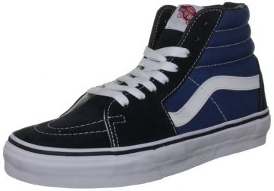 Vans Sk8 hi reissue at Amazon
