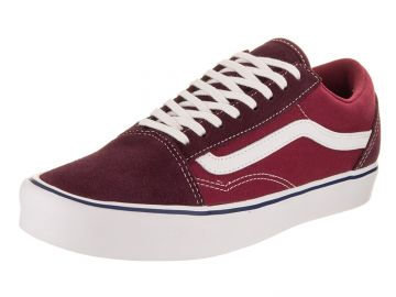 Vans Unisex Old Skool Lite  Canvas  Skate Shoe at Amazon