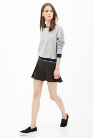 Varsity Striped Sweatshirt at Forever 21