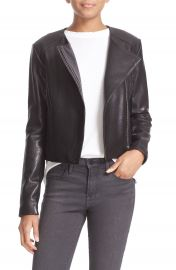 Veda  Dali  Lambskin Leather Jacket at Nordstrom