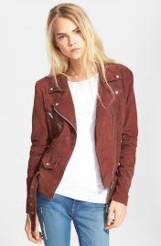 Veda  Jayne  Suede Moto Jacket at Nordstrom