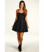 Vegan leather pleated dress by Free People on PLL at Zappos