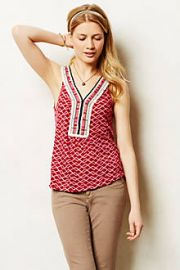 Vela Tank at Anthropologie